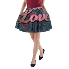 Love! A Line Pocket Skirt by SugaPlumsEmporium