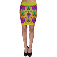 Floral Love And Why Not In Neon Bodycon Skirts by pepitasart