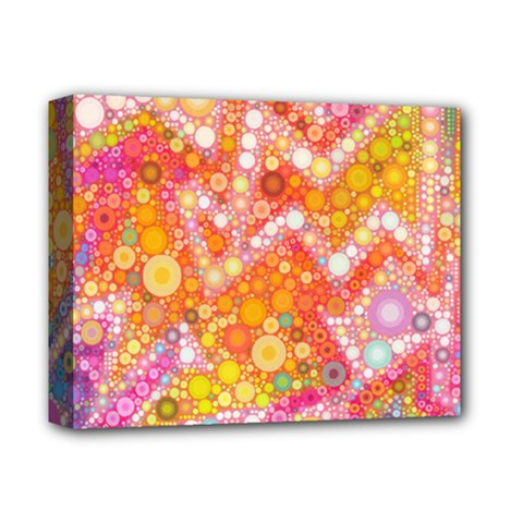 Sunshine Bubbles Deluxe Canvas 14  X 11  by KirstenStar