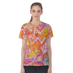 Sunshine Bubbles Women s Cotton Tee by KirstenStar