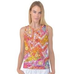 Sunshine Bubbles Women s Basketball Tank Top by KirstenStar