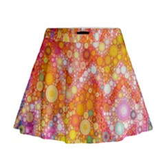 Sunshine Bubbles Mini Flare Skirt by KirstenStar