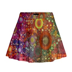 Circle Fantasies Mini Flare Skirt by KirstenStar