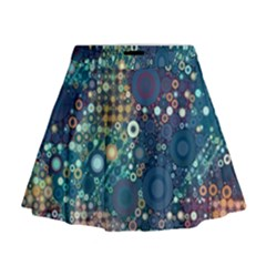 Babybluebubbles Mini Flare Skirt by KirstenStar
