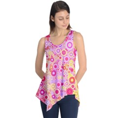 Sweet Pink Bubbles Sleeveless Tunic by KirstenStar