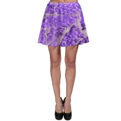 Festive Chic Purple Stone Glitter  Skater Skirt by yoursparklingshop