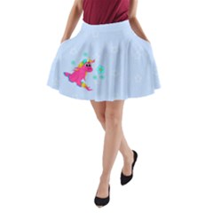 Life Is Not A Pony Ranch A-line Pocket Skirt