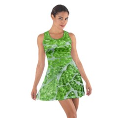 Festive Chic Green Glitter Shiny Glamour Sparkles Racerback Dresses by yoursparklingshop