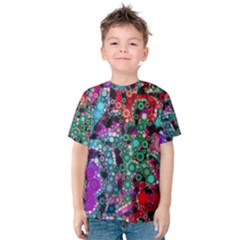 Bubble Chaos Kid s Cotton Tee by KirstenStar