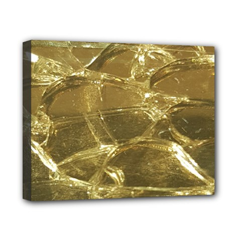 Gold Bar Golden Chic Festive Sparkling Gold  Canvas 10  X 8  by yoursparklingshop