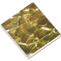 Gold Bar Golden Chic Festive Sparkling Gold  Small Memo Pads by yoursparklingshop