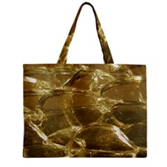 Gold Bar Golden Chic Festive Sparkling Gold  Zipper Mini Tote Bag by yoursparklingshop