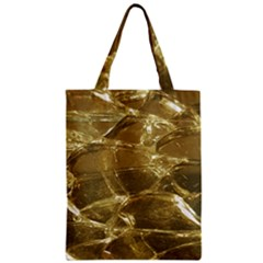 Gold Bar Golden Chic Festive Sparkling Gold  Zipper Classic Tote Bag by yoursparklingshop