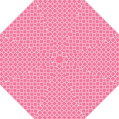 Soft Pink Quatrefoil Pattern Straight Umbrella by Zandiepants