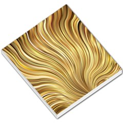Gold Stripes Festive Flowing Flame  Small Memo Pads by yoursparklingshop