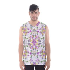 Geometric Boho Chic Men s Basketball Tank Top by dflcprintsclothing