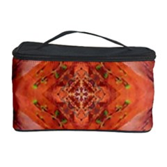 Boho Bohemian Hippie Floral Abstract Faded  Cosmetic Storage Cases by CrypticFragmentsDesign