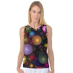 Billions Of Bubbles Women s Basketball Tank Top