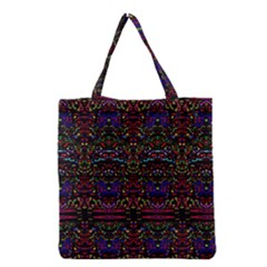 Purple 88 Grocery Tote Bag by MRTACPANS