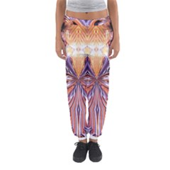 Fire Goddess Abstract Modern Digital Art  Women s Jogger Sweatpants by CrypticFragmentsDesign