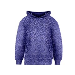 Abstract Texture Print Kids  Pullover Hoodie