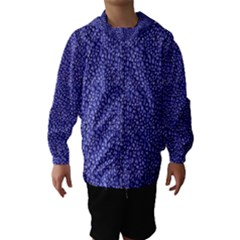 Abstract Texture Print Hooded Wind Breaker (kids) by dflcprintsclothing