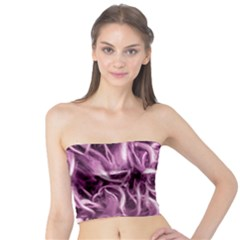 Textured Abstract Print Tube Top by dflcprintsclothing