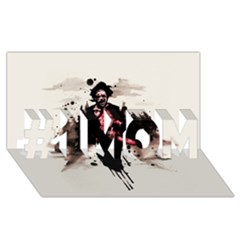 Leatherface 1974 #1 Mom 3d Greeting Cards (8x4)