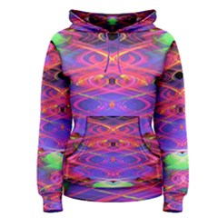 Neon Night Dance Party Pink Purple Women s Pullover Hoodie by CrypticFragmentsDesign