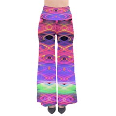 Neon Night Dance Party Pink Purple Pants by CrypticFragmentsDesign