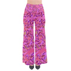 Bright Pink Confetti Storm Pants by KirstenStar