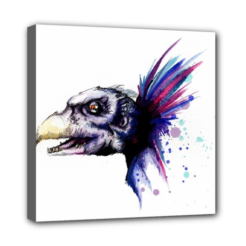 Skeksis Mini Canvas 8  X 8  by lvbart