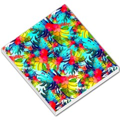 Watercolor Tropical Leaves Pattern Small Memo Pads by TastefulDesigns