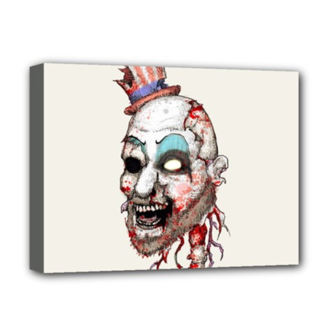 Captain Zombie Deluxe Canvas 16  X 12   by lvbart