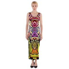 Reflection Fitted Maxi Dress