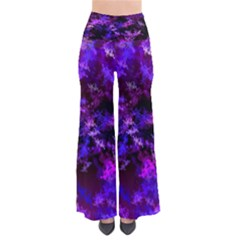 Purple Skulls Goth Storm Pants by KirstenStar