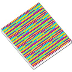 Colorful Stripes Background Small Memo Pads by TastefulDesigns