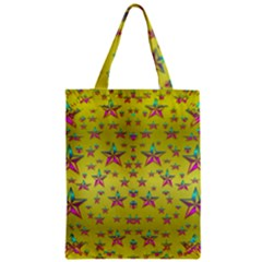 Flower Power Stars Classic Tote Bag by pepitasart