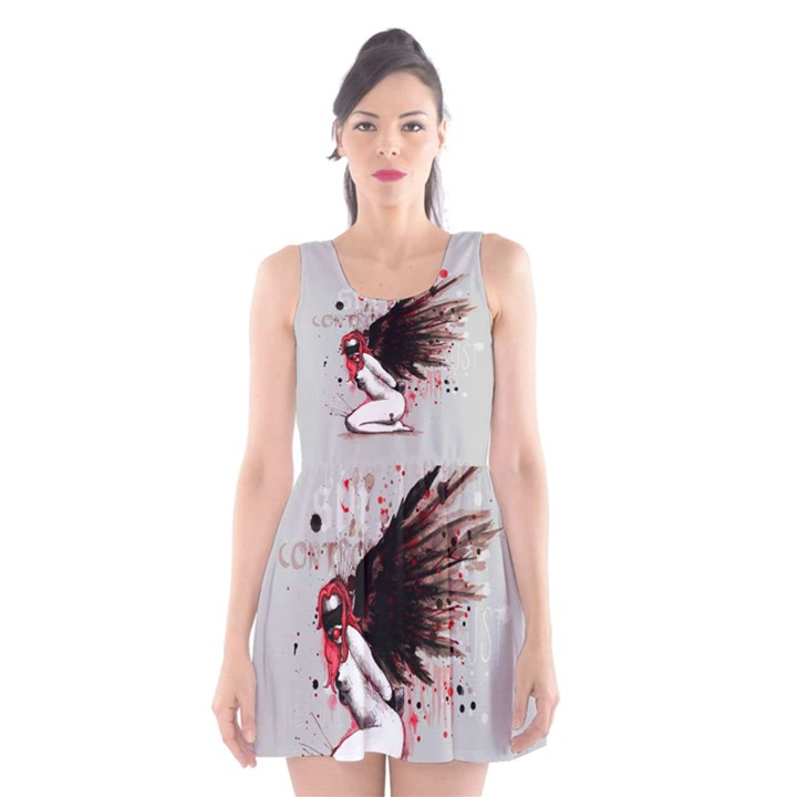 209d2d65ad Dominance Scoop Neck Skater Dress