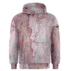 Coral Pink Abstract Background Texture Men s Pullover Hoodie by CrypticFragmentsDesign