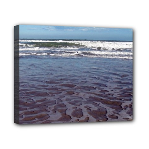 Ocean Surf Beach Waves Canvas 10  X 8  by CrypticFragmentsColors