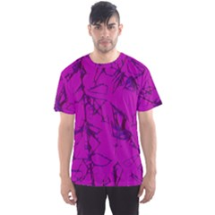 Thorny Abstract,hot Pink Men s Sport Mesh Tee by MoreColorsinLife
