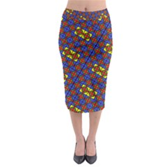 Psycho Two Midi Pencil Skirt by MRTACPANS