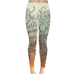 Inspirational Leggings  by Limitless