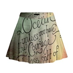 Inspirational Mini Flare Skirt by Limitless