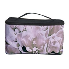 White Flower Cosmetic Storage Cases by uniquedesignsbycassie