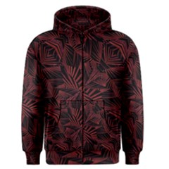 Sharp Tribal Pattern Men s Zipper Hoodie