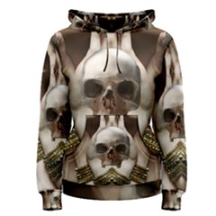 Skull Magic Women s Pullover Hoodie by icarusismartdesigns