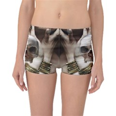Skull Magic Boyleg Bikini Bottoms by icarusismartdesigns