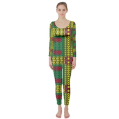 Oregon Delight Long Sleeve Catsuit by MRTACPANS